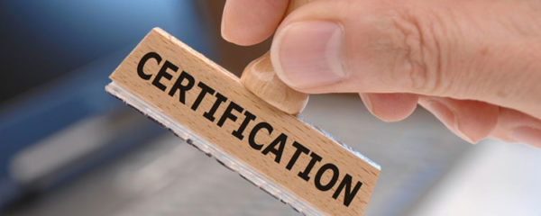 certification selon la norme NF525